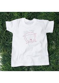 핫픽스 큐빅 티셔츠 LITTLE SHEEP(LC10024)-성인용