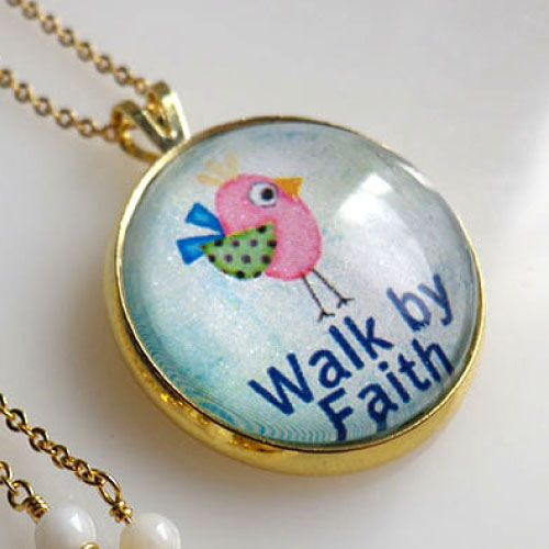 목걸이 - Walk by Faith