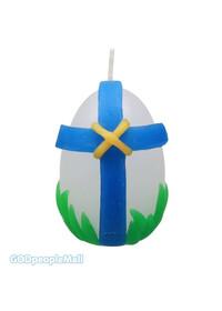 부활절 달걀 양초 꾸미기 100개 세트