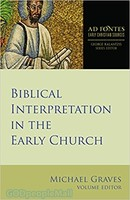 Biblical Interpretation in the Early Church (PB)