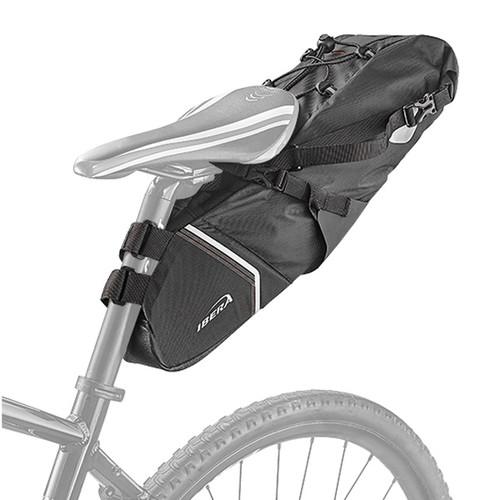 아이베라 6리터 여행용 출퇴근 완전방수 자전거 백로더 안장가방