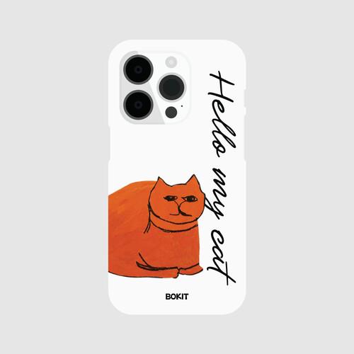 [더사랑 보킷] 폰케이스 고양이