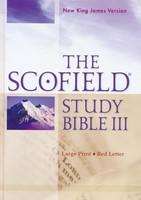 NKJV: Scofield Study Bible III, Large Print Edition (Hardback)