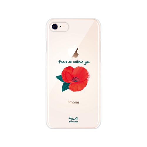 플라워 투명 젤리 폰케이스 12.빨간꽃