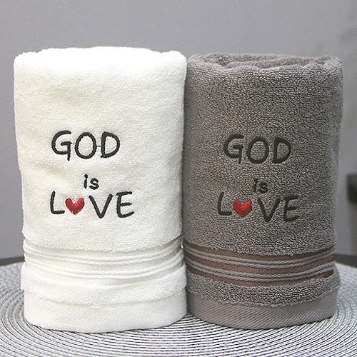 [땡큐몰]160g 교회타올 GOD is Love (무한타올)
