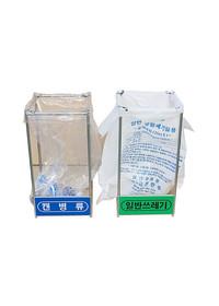 비닐걸이 분리수거함 - 실내용 간편식 100 (100리터)