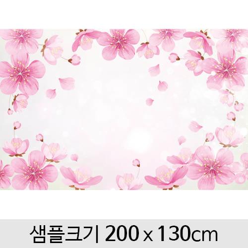 봄배경현수막(진달래)-112 (200 x 130)