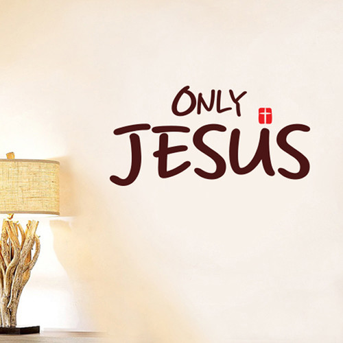 [리빙말씀스티커]Only Jesus(LWS)