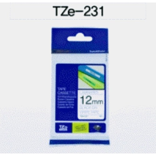 TZ테이프 12mm (부라더 라벨테이프,TZ-231)