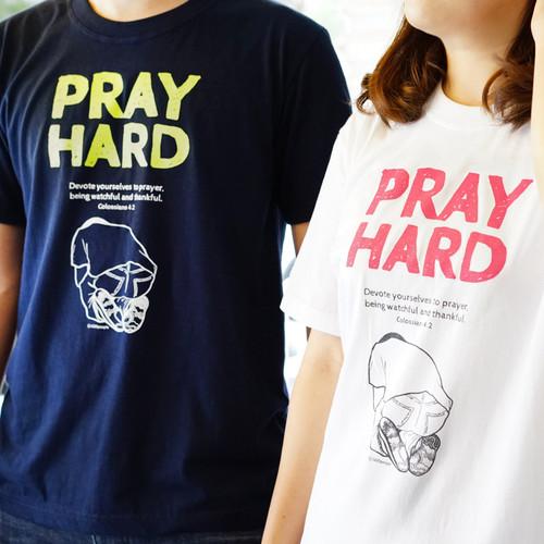 갓피플 선교 티셔츠 - Pray Hard(기도에 힘쓰라)
