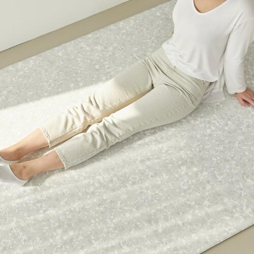 PVC 양면 바닥 매트 - 소프트테라조