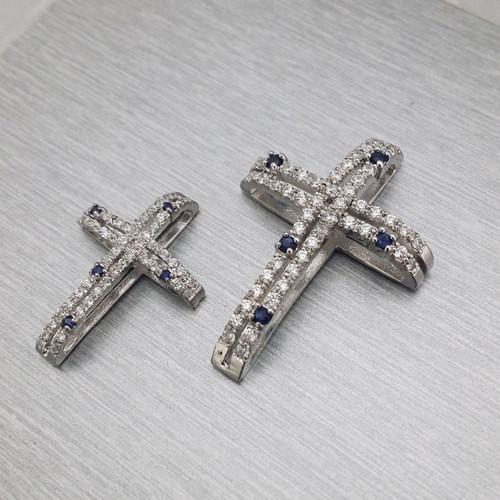 [십자가 목걸이] C-P160(대)(체인별도) / 실버