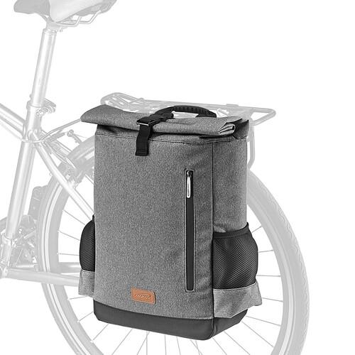 15리터 생활방수 자전거 백팩 겸용 자전거 짐받이 패니어 가방 대만산