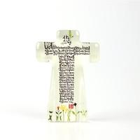 크리스탈 스탠드 십자가 - 사도신경 야광(대)