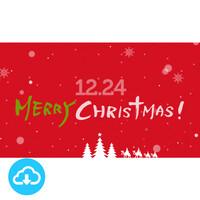 파워포인트 예배화면 템플릿 1 (성탄축하예배) by 갓피플 / 이메일발송 (파일)