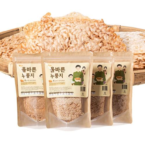 4봉+1봉 한밭제일장로교회 오재옥집사의 우리쌀 올바른 누룽지 (100g*4봉)