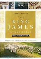 KJV: King James Study Bible, Cloth over Board, Full-Color Ed