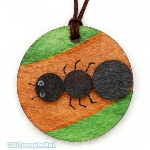 new곤충목걸이만들기-개미