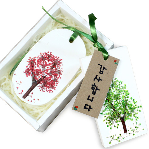 석고방향제 만들기 - 꽃나무 (6개세트)