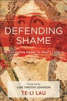 Defending Shame: Its Formative Power in Pauls Letters (소프트커버)