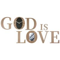 무소음 벽시계 하나님은사랑이시라