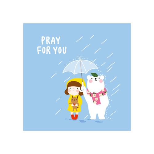 그레이스벨 헬로제인 미니카드 20.우산