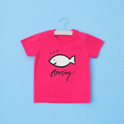 글로리월드 티셔츠 - 블레싱(체리핑크)