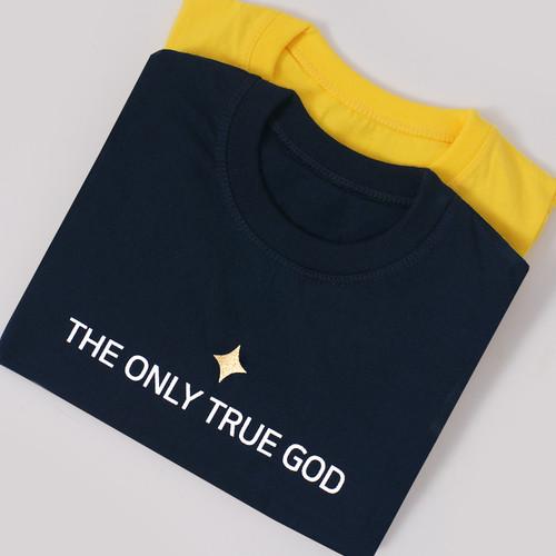갓피플 반팔 티셔츠 - THE ONLY TRUE GOD 여호와만 참 하나님