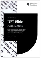 NET Bible, Full-notes Edition, Leathersoft, Black, Comfort Print (Imitation Leather)