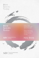 NIV: Bible Speaks Today Study Bible (양장본)
