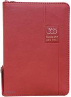 [교회단체명 인쇄]굿데이 365 성경전서 소 합본 (색인/지퍼/이태리신소재/레드)