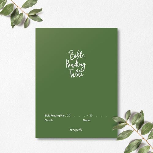 새가깃드는나무 성경읽기표(클래식카키)-1속 10매