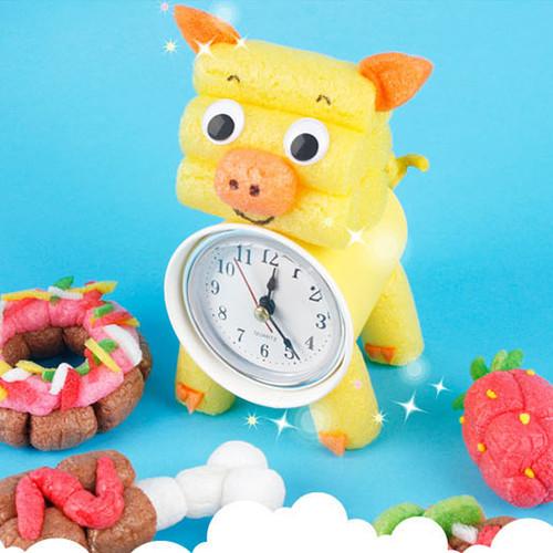[플레이콘] 돼지 시계 (5인용)