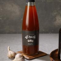 거창교회 백순희 집사의  천연발효식초 순정마초 선물세트 (500ml*2병)