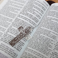 꿈꾸는나무 십자가 체인 북마크