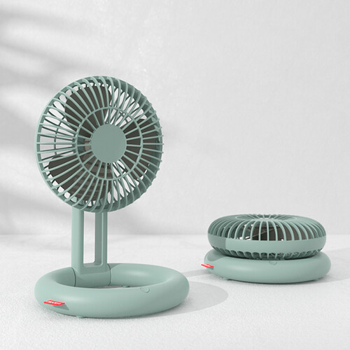 클리비오 산들바람 탁상용 선풍기 (무선USB선풍기/폴딩/미니선풍기)