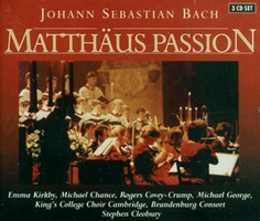 Johann Sebastian Bach - Matthaus Passion (3CD)