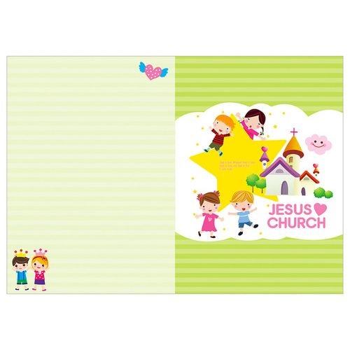 경지사 어린이주보 A4 4면 - 6012 (1속 100매)