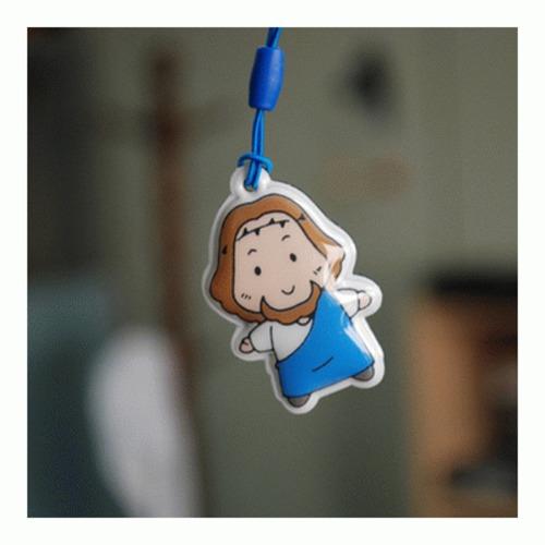 꼬마목동 예수님 캐릭터 핸드폰 액정 크리너
