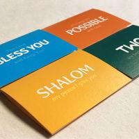 Blessing Keyword 카드세트 (4장 스티커)