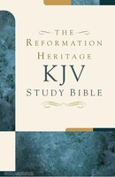 The Reformation Heritage KJV Study Bible (Hardcover)