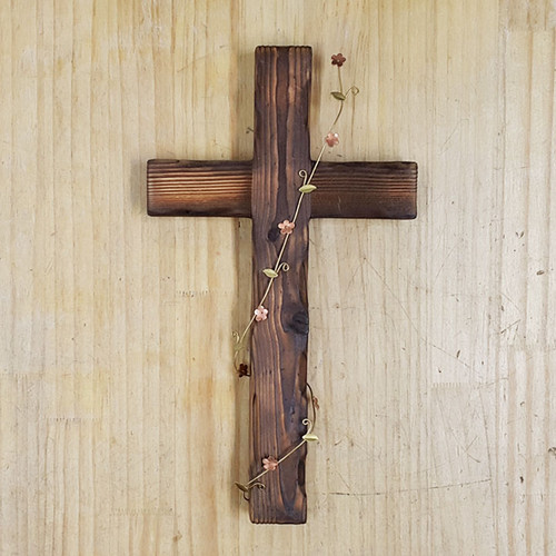 벽걸이 십자가(대) 넝쿨
