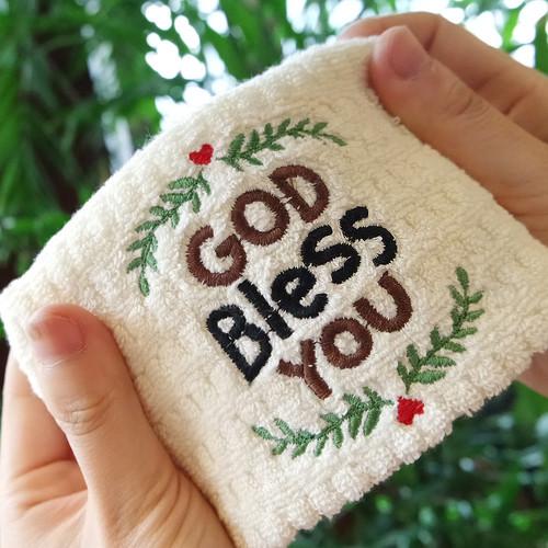 갓피플 블레싱 미니타올- GOD BLESS YOU