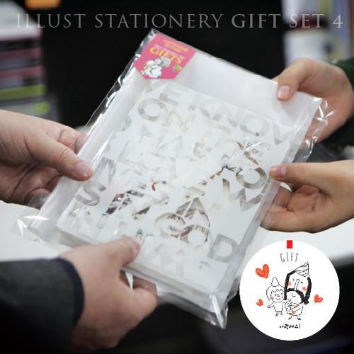 ★캠프코리아★여자와곰인형 문구세트04   선물백