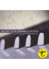 Music For Piano Lovers (CD)