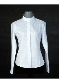 목회자셔츠-알파셔츠 여성흰색 (로만카라)