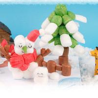 플레이콘 눈사람과 겨울나무(5인용)