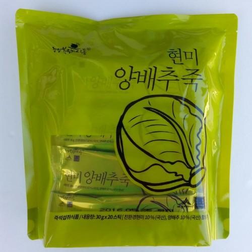 현미 양배추죽 (30g*20스틱)