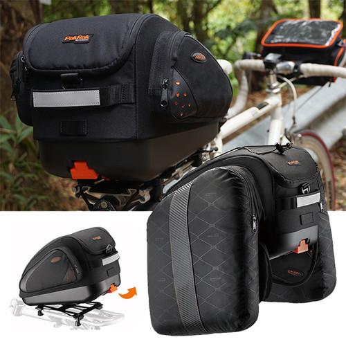 멀티마운트 확장형 21리터 자전거 대용량 짐받이 가방