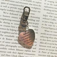 [프롬구원] Silver 1 Corinthians 13:13 , 키링